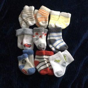 Baby Boys sock bundle